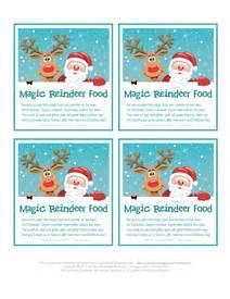 Reindeer food poem printable tagsart4search com art4search com