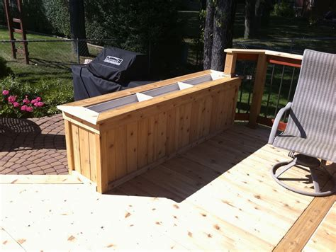 deck planter boxes ideas home design ideas