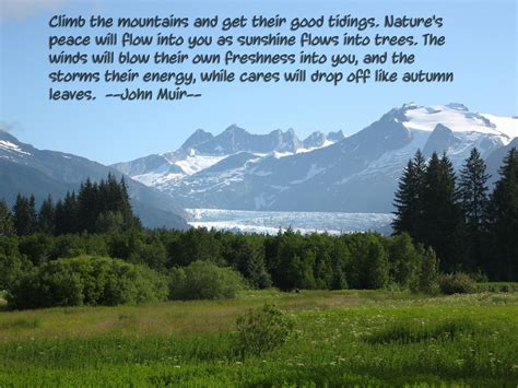 john muir climb the mountains and get their good tidings