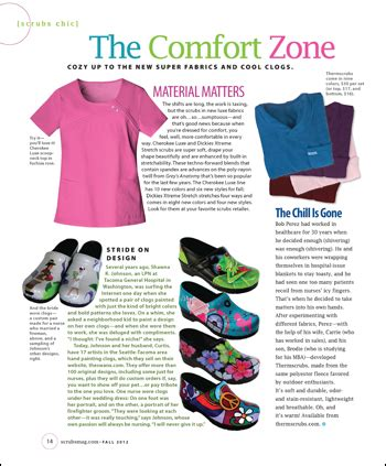 comfort zone article the comfort zone scrubs the leading lifestyle nursing