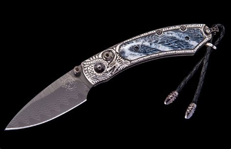 william henry kitchen knives william henry kestrel silver lair compact folder 2 125
