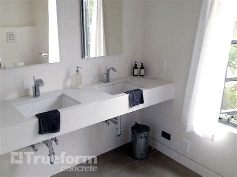 Cement Bathroom Vanity Top by 8 Best Images About Concrete Vanity Top Trueform