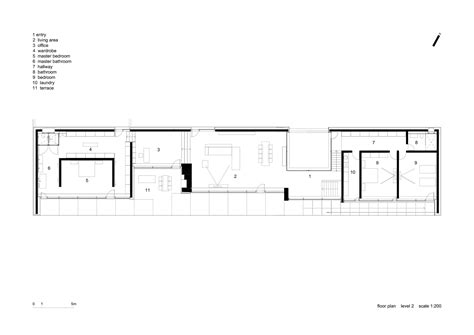 long house plans gallery of slight slope long house i o architects 19