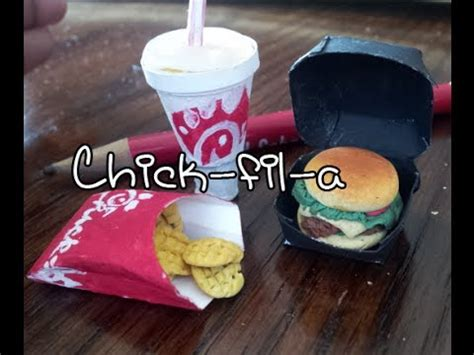 how to make doll food miniatures spicy fil a