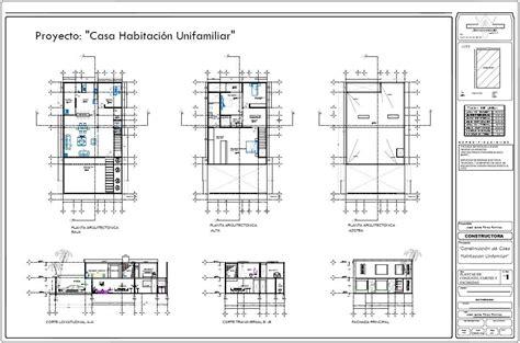 proyecto de casa servicio planos arquitectonicos proyecto dise 241 o casa