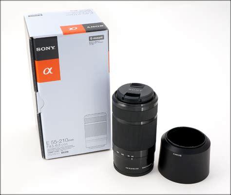Jual Lensa Sony Nex 55 210mm the sony e 55 210mm f 4 5 6 3 lens a spin photo