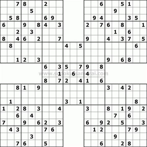 printable jigsaw sudoku puzzles free samurai sudoku puzzles pinterest samurai