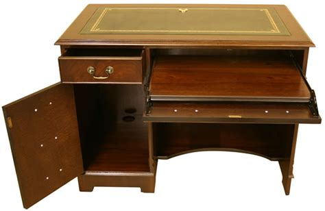 Reproduction Computer Desk Reproduction Computer Desk Southern Comfort Furniture Pedestal Desks Computer Desks Big Computer