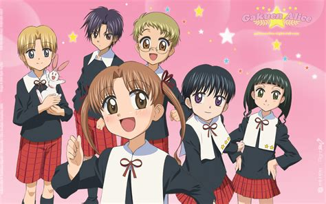 gakuen list moonlight summoner s anime sekai gakuen 学園アリス