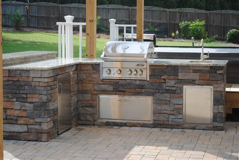 backyard griddle outdoors kitchens and grills southern touch landscaping