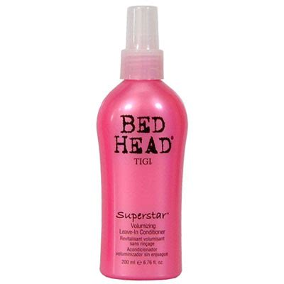 bed head leave in conditioner bed head superstar volumizing leave in conditioner buy