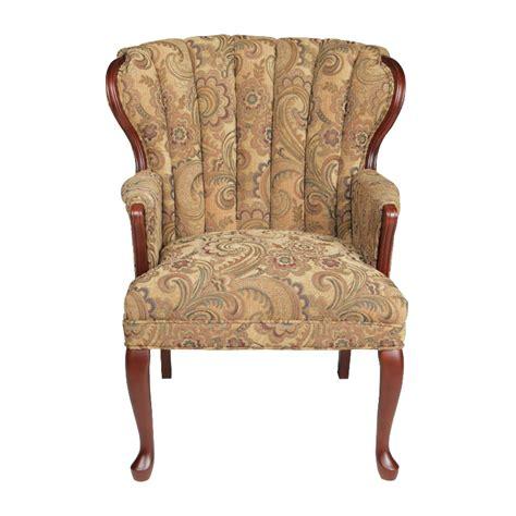 queen anne chair recliner autumn queen anne accent chair wg r furniture