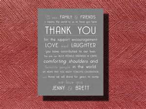 wedding day thank you note to guests wedding thank you note