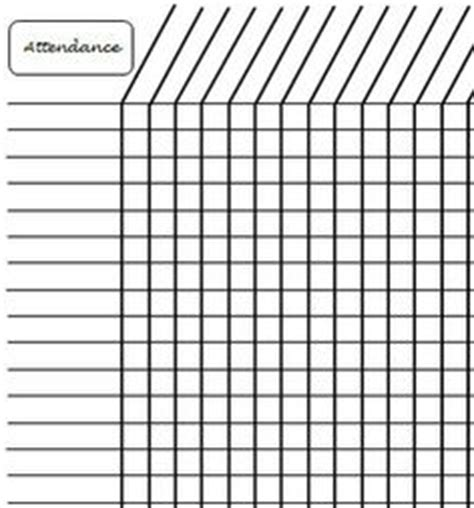 Simple Attendance Sheet Google Search Uu Re Pinterest Attendance Sheet Attendance And Church Attendance Record Template