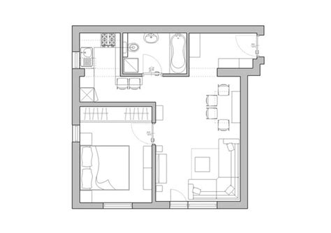 small apartment plans space saving tiny apartment new york apartments images