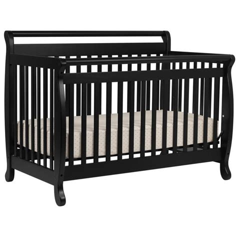 Da Vinci Davinci Emily 4 In 1 Convertible Wood Baby Review Black Baby Cribs For Sale