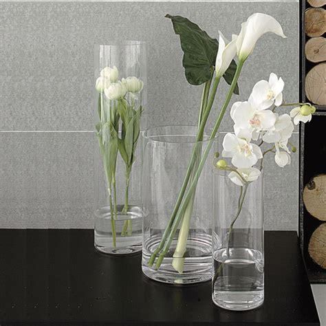 vasi in vetro trasparente vaso in vetro adriani e