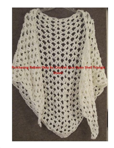 free crochet pattern triangle wrap crochet pattern lace shawl bridal shawl wrap on pinterest