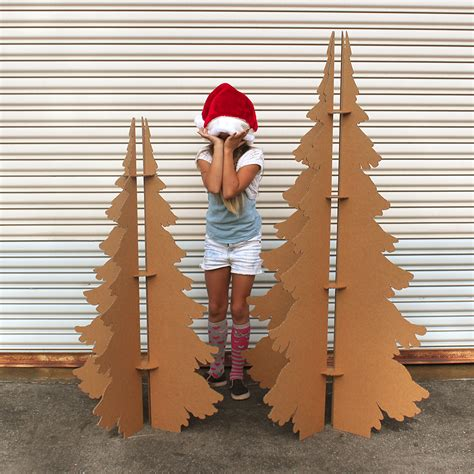 how to make a 3ft cardboard christmas tree cardboard secret josephine