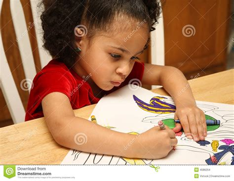 child color child coloring stock images image 4586254