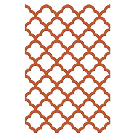 lattice card template spellbinders grateful lattice shapeabilities die cutting