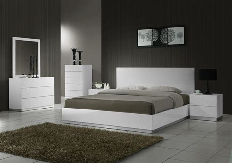 naples modern bedroom set