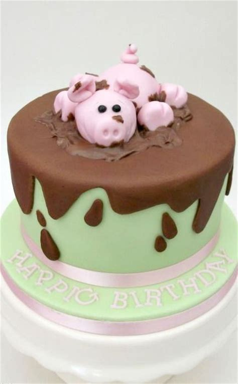 Pig Anniversary Cakeq 123 best images about pig cakes on piggy cake pig in mud and cakes