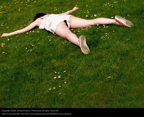 garten nackt meadow grass a royalty free stock photo from