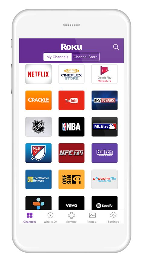 roku app android roku canada updated roku mobile app for ios and android get to the entertainment you