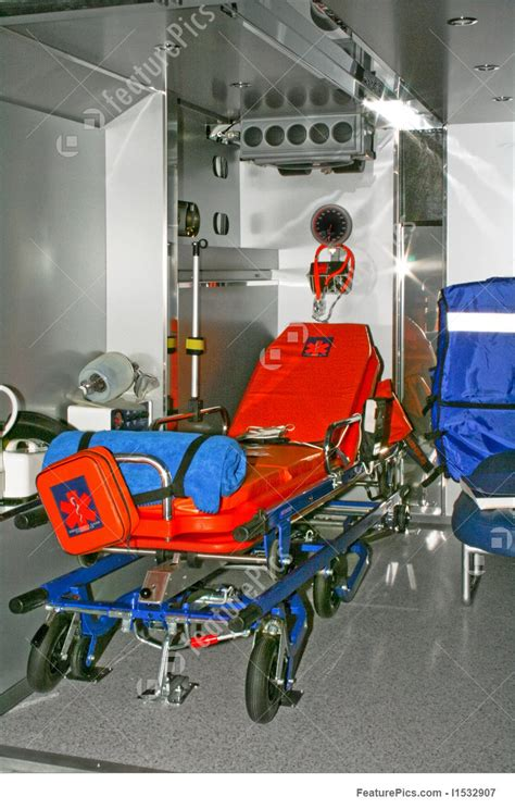 ambulance bed ambulance bed stock picture i1532907 at featurepics