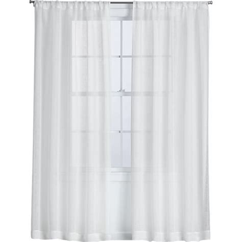crate and barrel linen curtains curtain panels white curtains and crate and barrel on