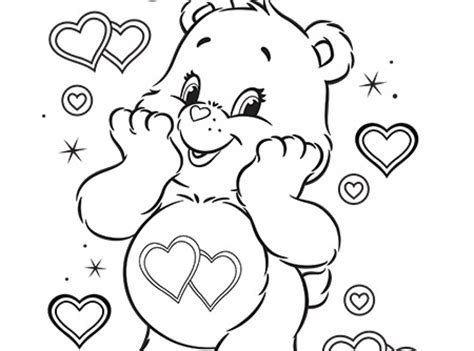 care bear coloring pages pdf get this online care bear coloring pages for kids sz5em