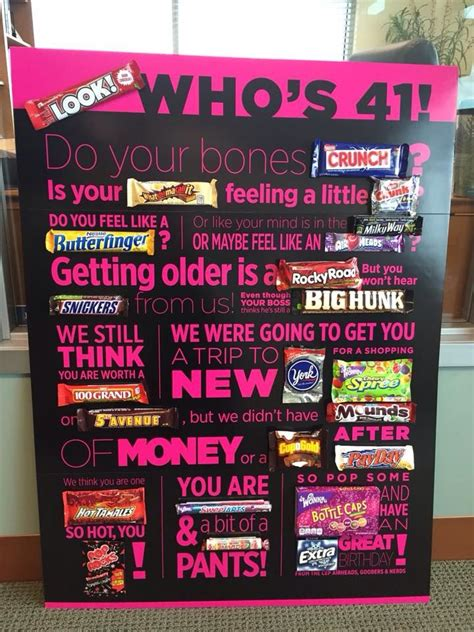 Happy Birthday Bar Card 25 Best Ideas About Candy Bar Poems On Pinterest Candy