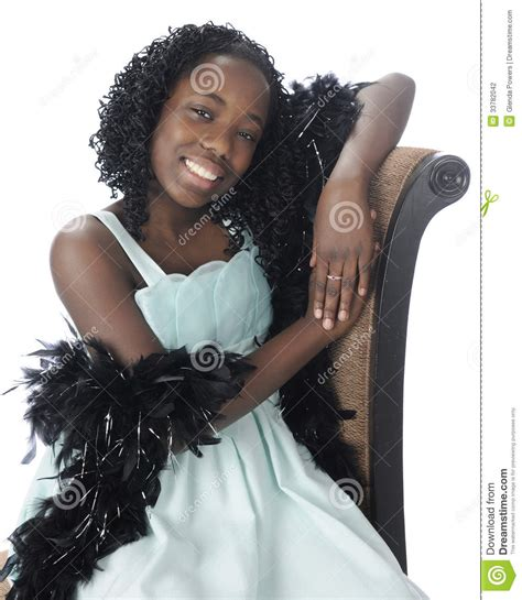 black preteen pretty sitting preteen stock photography image 33782042