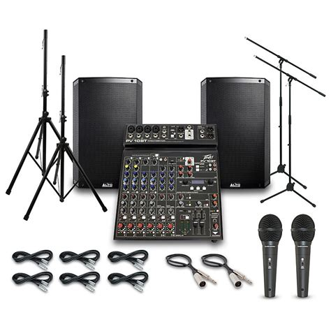 Daftar Mixer Audio Alto alto truesonic ts215 with peavy pv10bt mixer pa system