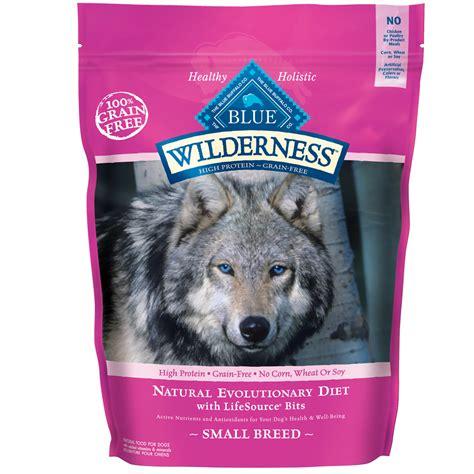 blue wilderness food blue buffalo wilderness grain free small breed chicken recipe 11 lb