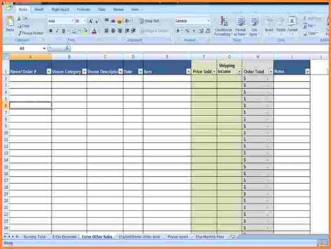 Sales And Expenses Spreadsheet by 9 Sales And Expenses Spreadsheet Excel Spreadsheets