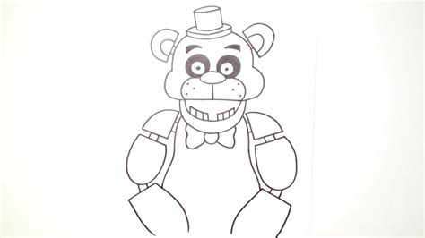 how to draw five nights at freddy s learn to draw fnaf books how to draw freddy fazbear from five nights at freddy s