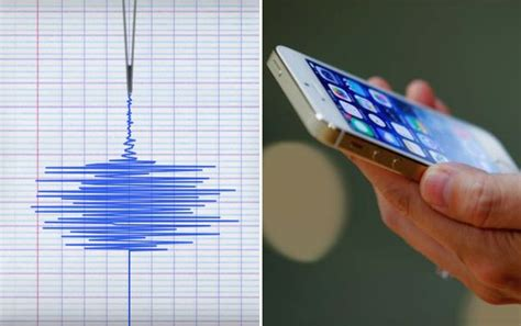 diy earthquake detector smartphones are earthquake detectors and we