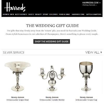 Wedding Gift Harrods by Harrods Employs Consistent Digital Efforts To Market