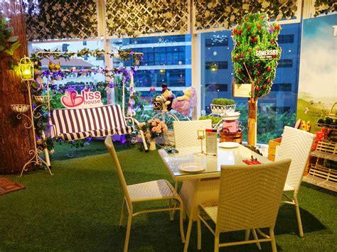 pinkypiggu blisshouse  pretty garden theme restaurant