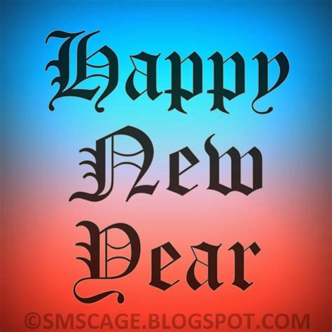 happy new year shayari happy new year 2014 shayari in sms cage