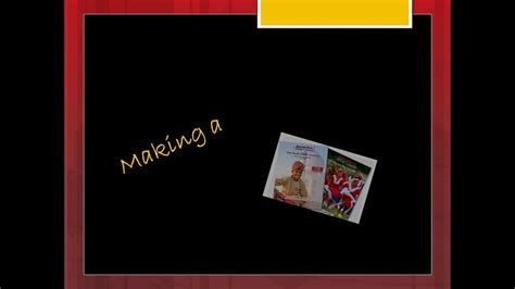 How To Make A Brochure Handmade - a travel brochure
