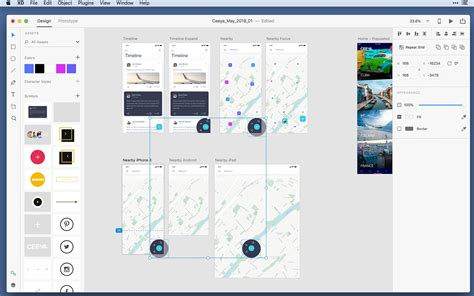Adobe Xd Cc Is Now Available For Free Webdesigner Depot Adobe Xd Templates Ios
