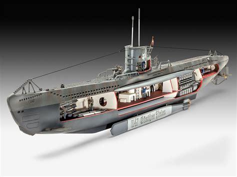 u boat 47 revell 05060 sous marin avec interieur visible u 47 u boat