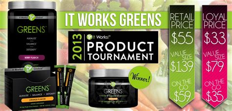 How Does It Works Greens Detox Your by It Works Greens Be By Tomorrow