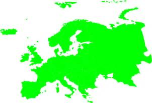 Outline Map Europe And Asia by Continents Of Europe Asia Clip At Clker Vector