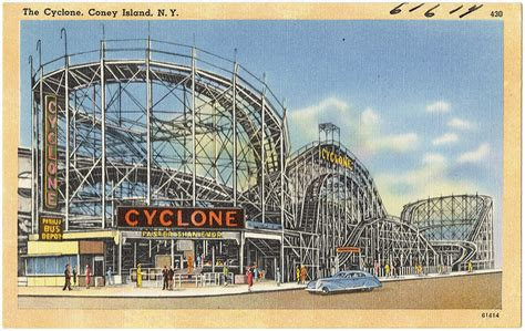 roller coaster tales of 1960 s coney island books coney island s roller coaster history