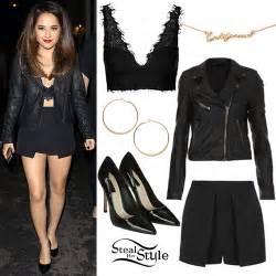 Becky g leather jacket layered skort steal her style bloglovin