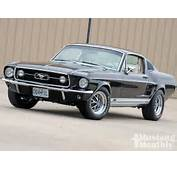 1967 Ford Mustang GT Fastback 65 Wallpaper